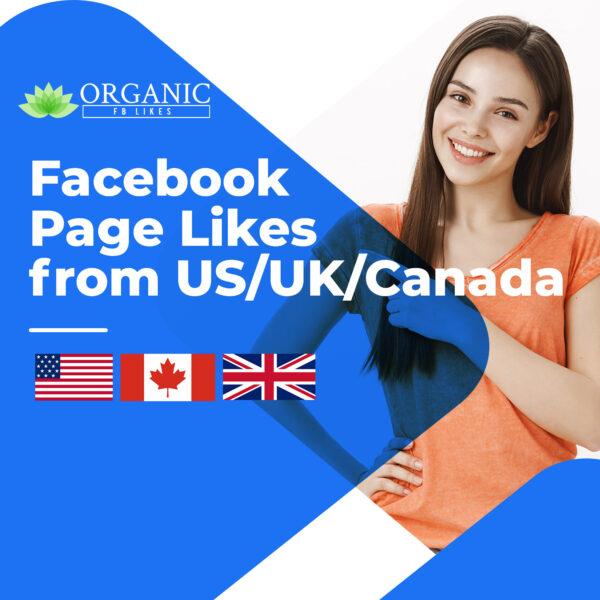 Facebook USA/UK/Canada Page Likes