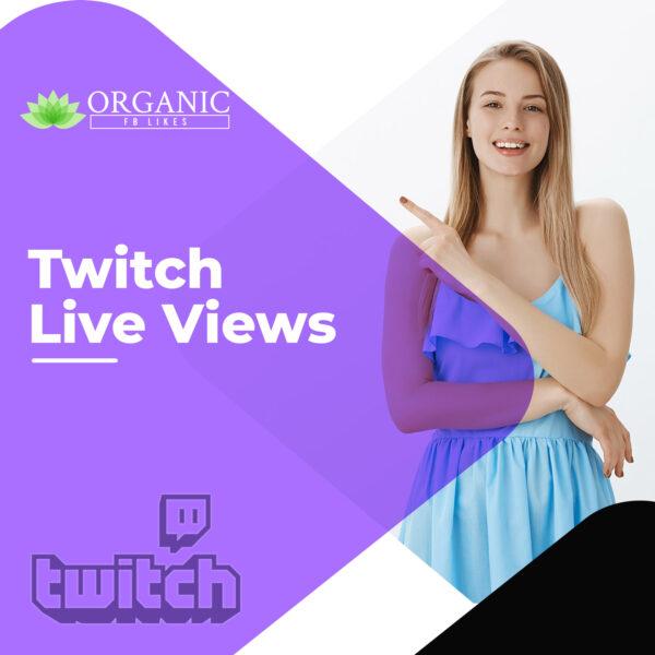 Twitch Live Stream Views